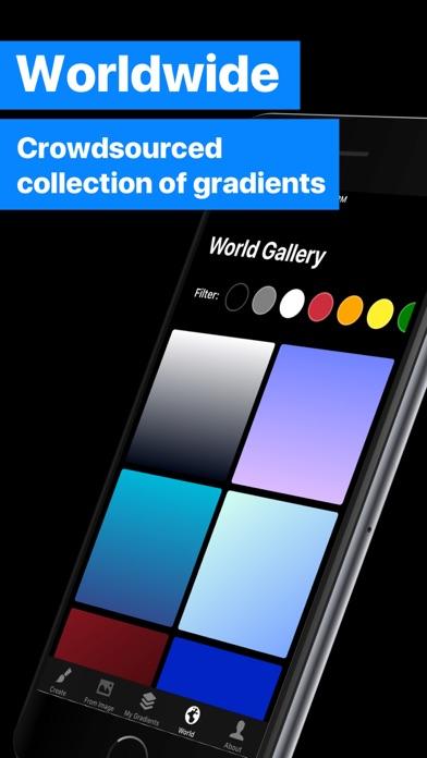 Gradients Maker Design Tool Hd review screenshots