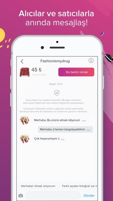 Screenshot for Gardrops - İkinci El Moda in Turkey App Store