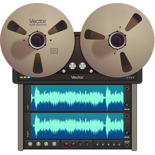 Vector 3 - Record & Edit Audio for Mac