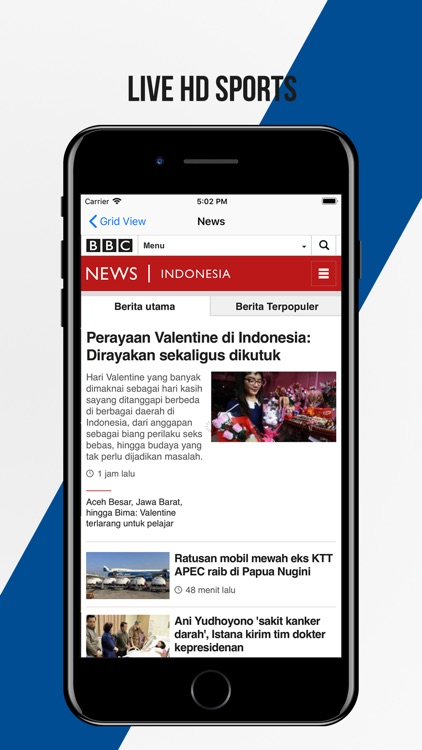 Indonesia Live TV screenshot-4
