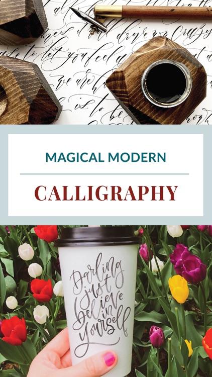 Calligraphy Crush Magazine