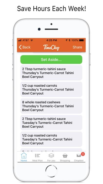 TimeChop Wellness Recipes screenshot-7