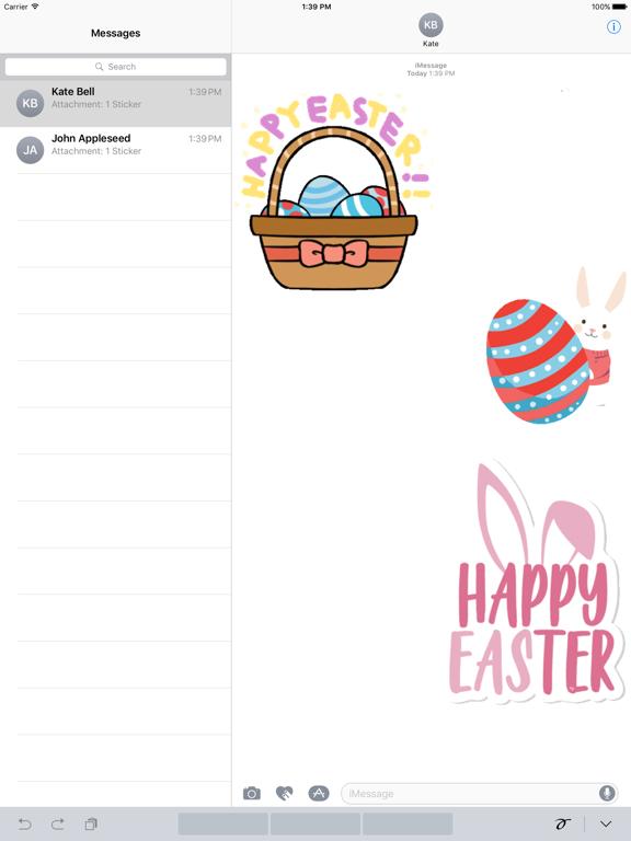 Animated Easter Sticker screenshot 4