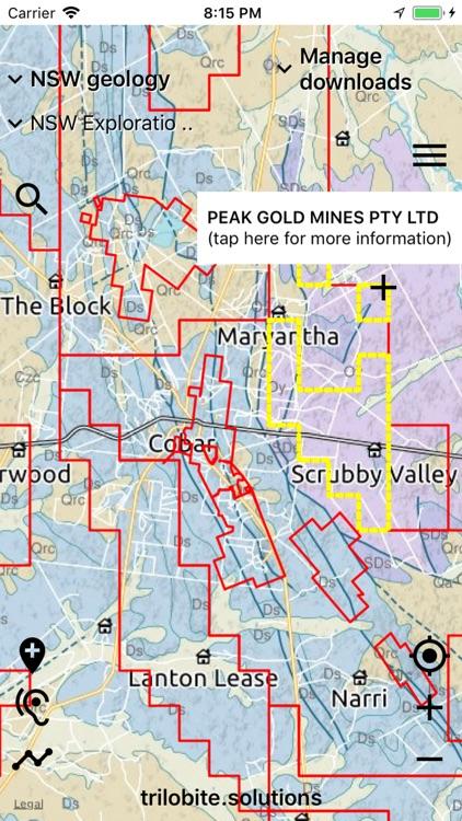 Australian Geology Travel Maps screenshot-5