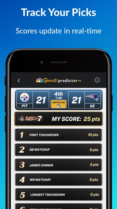 Nbc Sports Predictor review screenshots