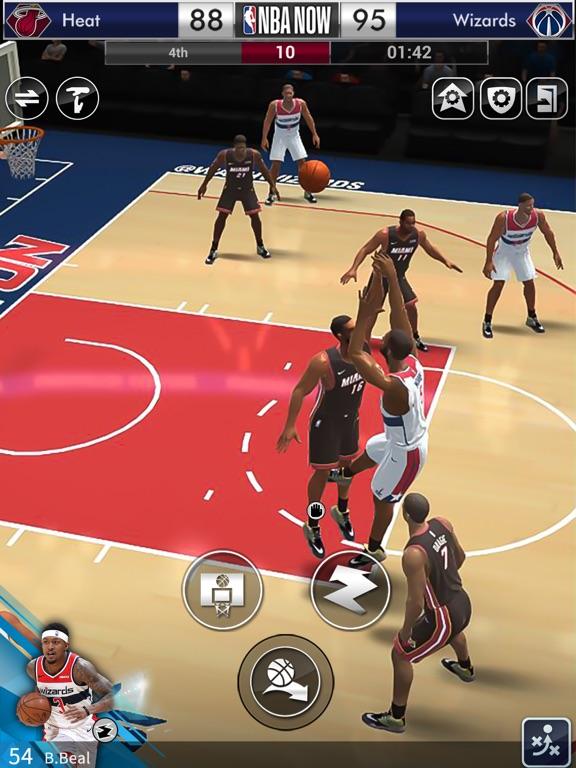NBA NOW Mobile Basketball Game screenshot 12