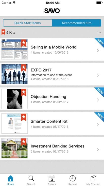 SAVO Mobile Sales Pro