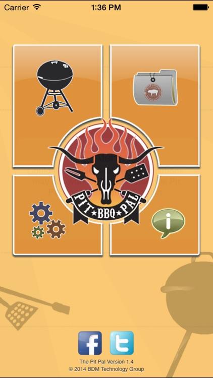 The Pit Pal BBQ App screenshot-0