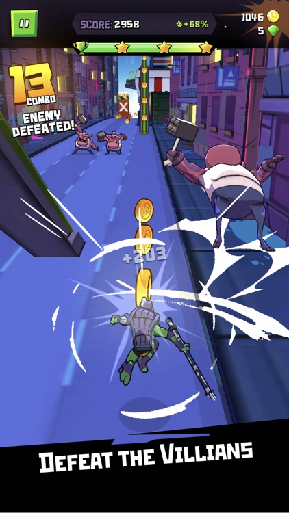 Rise of the TMNT: Ninja Run screenshot-3