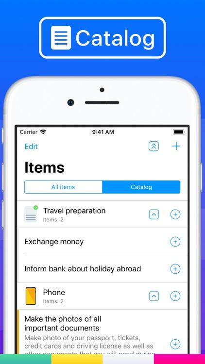 Waymate:Packing List Checklist screenshot-3