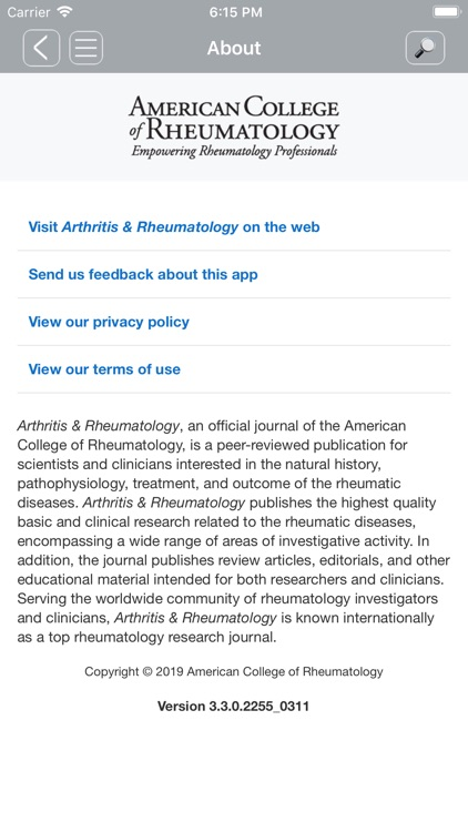 Arthritis Care & Research by Wiley Publishing
