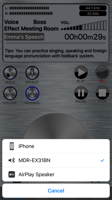 Live Voice Changer - Prankcall - App - iOS me
