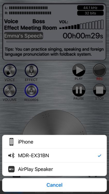 Live Voice Changer - Prankcall screenshot-4