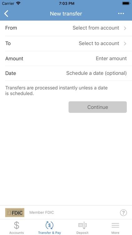 Albany Bank & Trust Co. Mobile screenshot-4