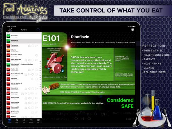 Food Additives 2 Screenshot 0