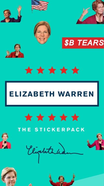 Elizabeth Warren Sticker Pack