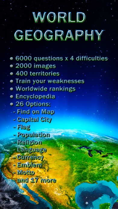 World Geography - Quiz Game free Hints and Lives hack