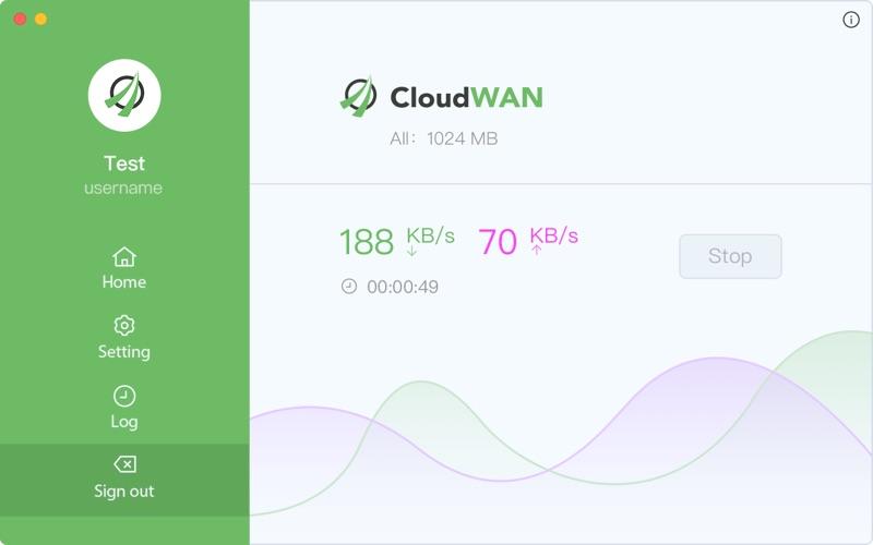 CloudWAN for Mac