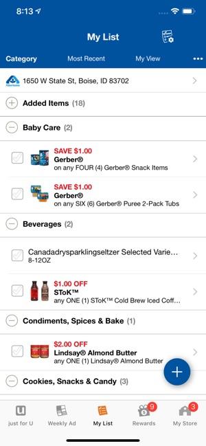 Albertsons Deals & Rewards on the App Store