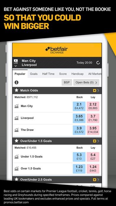 Betfair™ Exchange Betting Odds by Betfair (iOS, United Kingdom