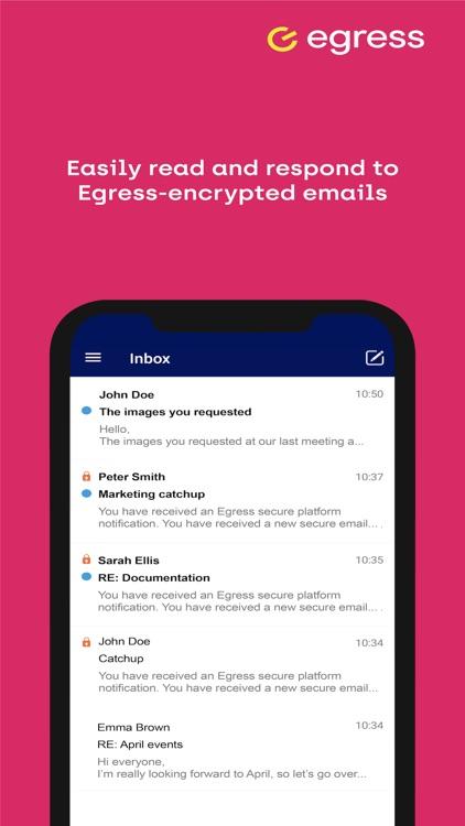 Egress Secure Mail