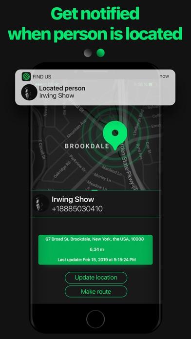 FindUS GPS Cell Phone Tracker Screenshot
