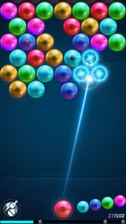 Bubble Shooter -magnetic balls