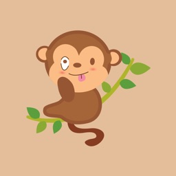 funny monkey sticker 2019