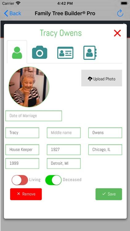Family Tree Builder Pro screenshot-3