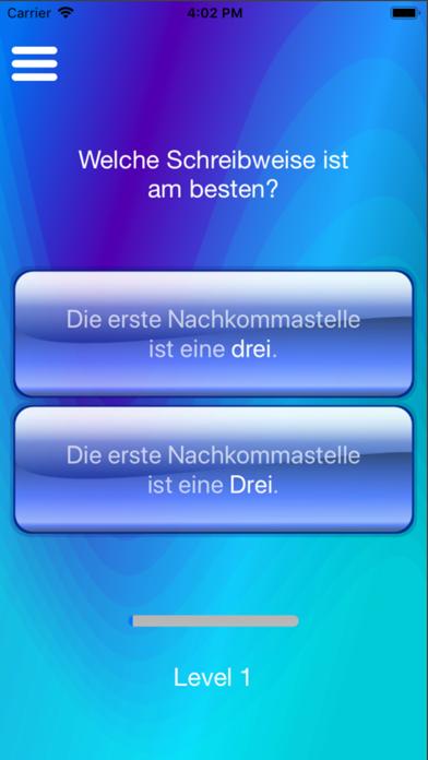 Screenshot for Groß- und Kleinschreibung in Germany App Store