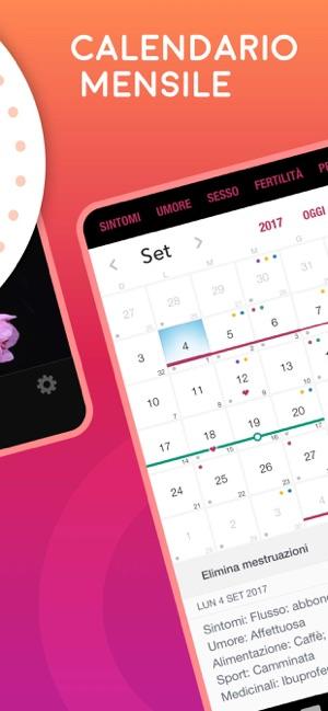 Calendario Dell Ovulazione.Life Ciclo Mestruale Su App Store