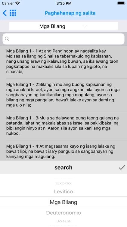 Holy Bible in Filipino screenshot-7