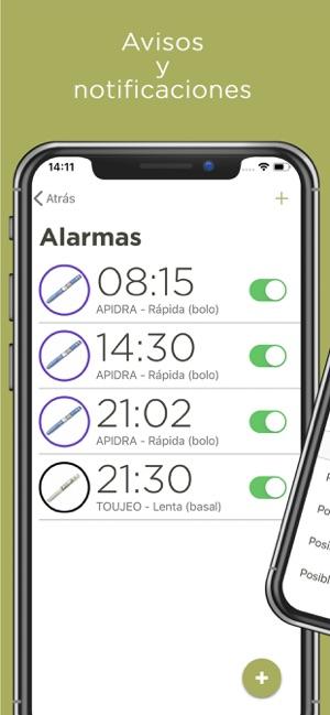 aplicación de seguimiento de diabetes iphone