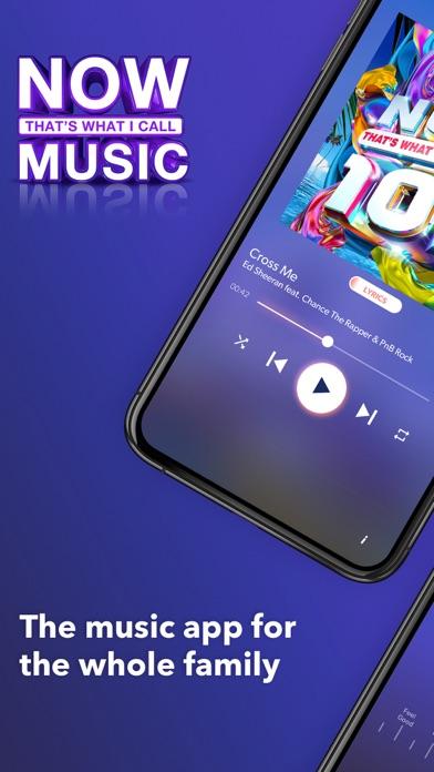 NOW Music & Playlist Player screenshot one