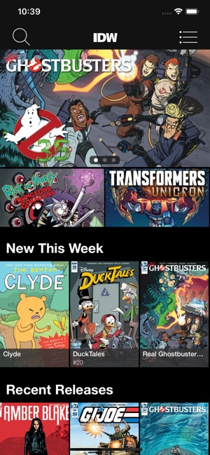 IDW Comics on the App Store