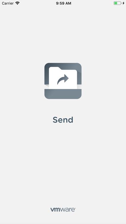 Send - Workspace ONE screenshot-5