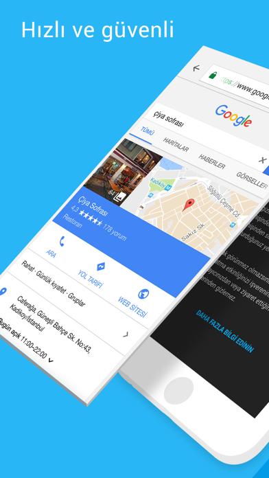 Screenshot for Google Chrome in Turkey App Store