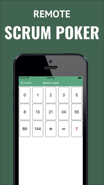 Remote Scrum Poker screenshot-0
