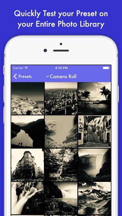 Preset Screenshots