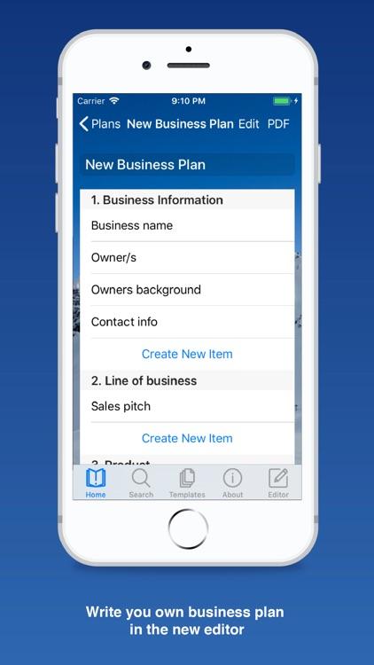 Business Plan for Startups screenshot-5