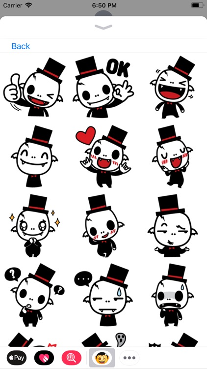 iStickers: Vampires screenshot-4