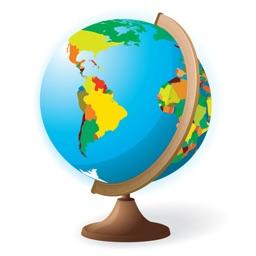 世界地图-全球190多个国家的高清地图