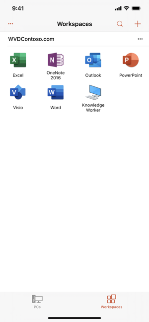 ‎Remote Desktop Mobile Screenshot