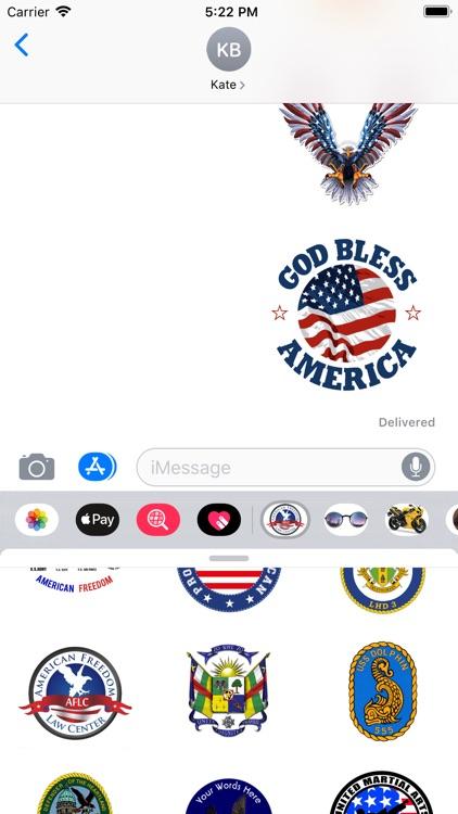 Stickers For Symbols USA screenshot-4