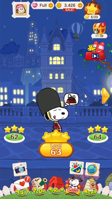 SNOOPY Puzzle Journey screenshot 2