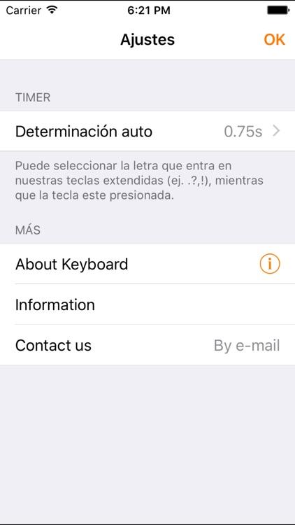 Easy Mailer Spanish Keyboard screenshot-4