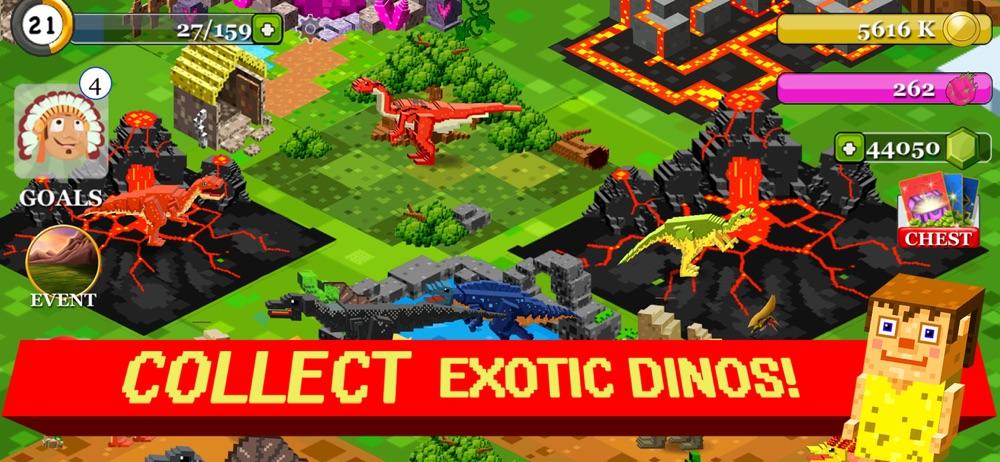 Jurassic Pixel Dinosaur Craft hack tool