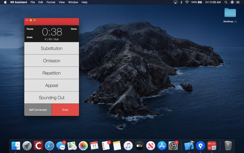 Running Record Assistant for Mac