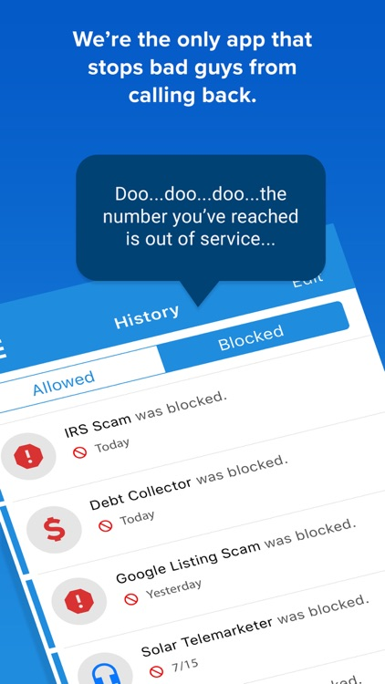 YouMail Voicemail & Spam Block screenshot-1