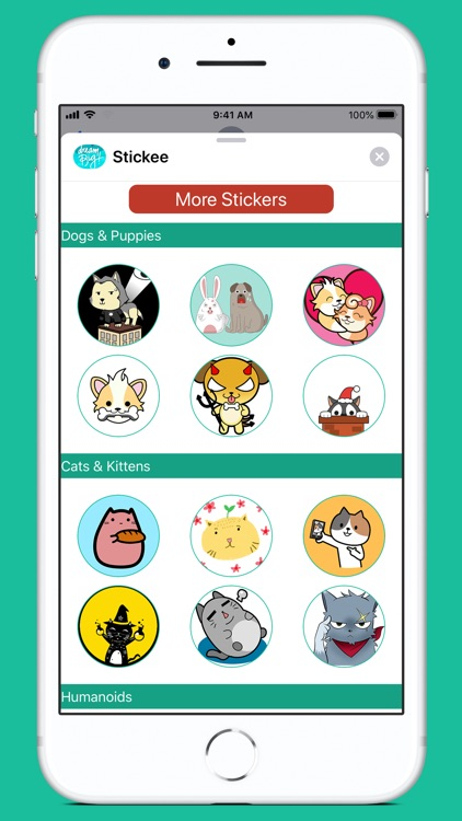 Stickee Stickers for iMessage screenshot-4